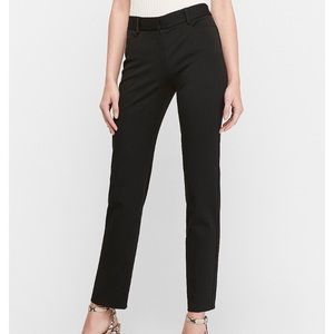 Express Columnist Mid-Rise Ankle Pant